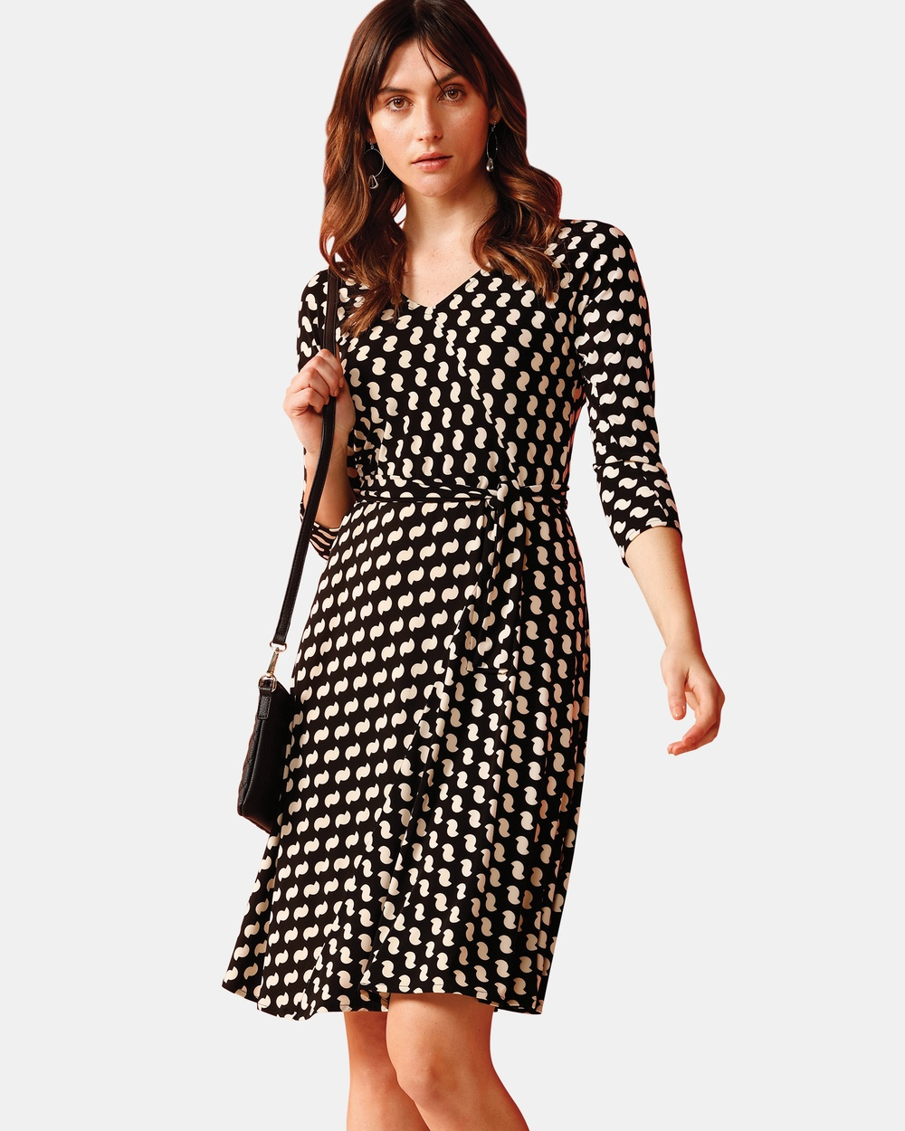 SACHA DRAKE Black Harlem Meer Dress