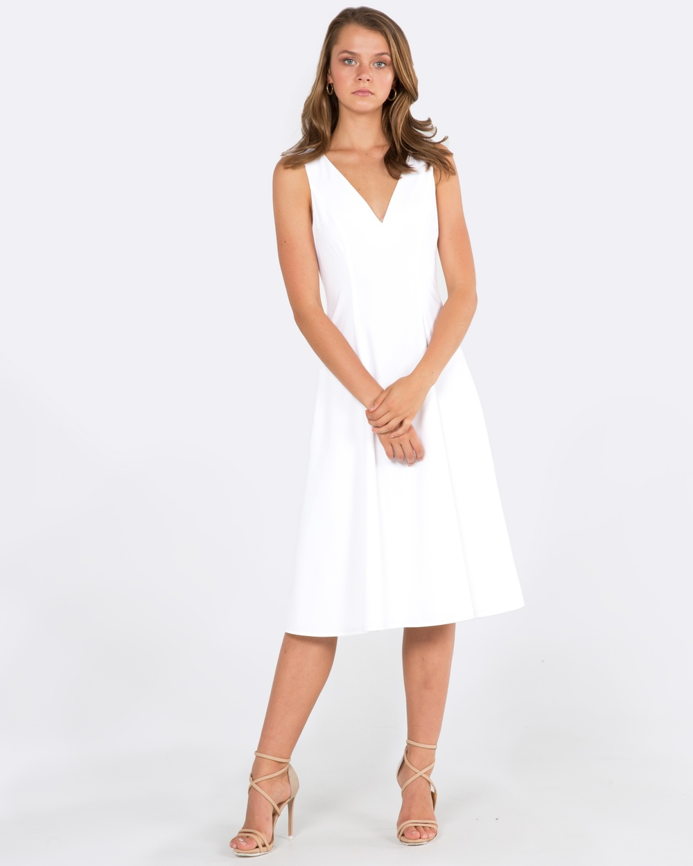 Amelius Magnet Dress Dresses White Magnet Dress