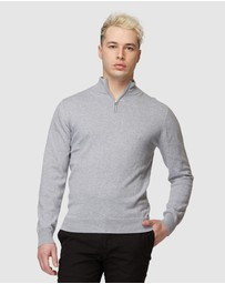 Jack London - Grey Sussex Turtleneck