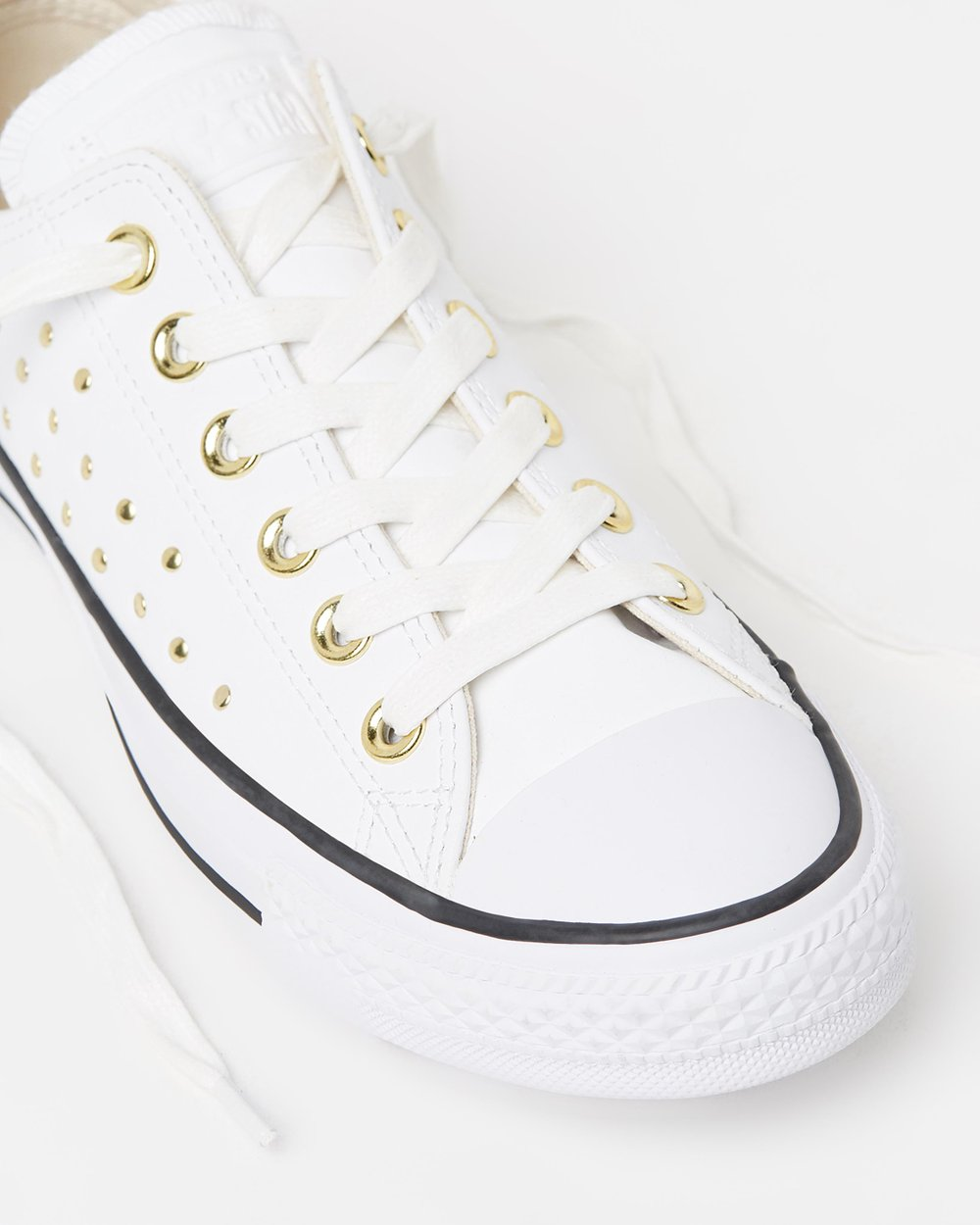 18ba87c9f27e Chuck Taylor All Star Leather Stud Ox by Converse Online
