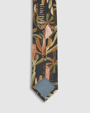 Peggy and Finn Grass Tree Tie - Ties (Black)