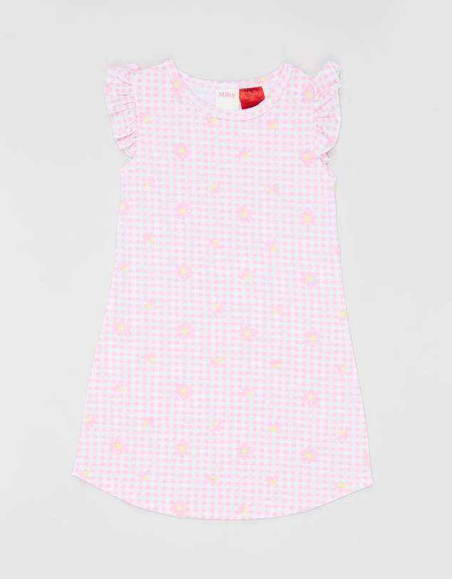 Milky - Gingham Nightie - Kids