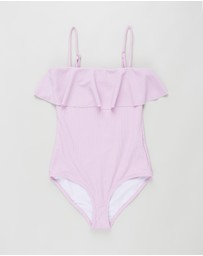Free by Cotton On - Frill One-Piece - Teens