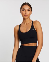 Running Bare - Lotus Longline Crop