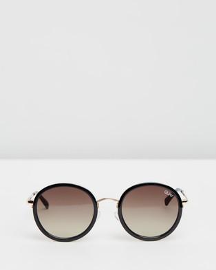 Quay Australia Firefly - Sunglasses (Black & Brown)