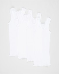 Bonds Baby - 4-Pack Vests - Babies