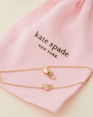 Kate Spade Disney x Kate Spade New York Minnie Pave Bracelet - Jewellery (Gold)