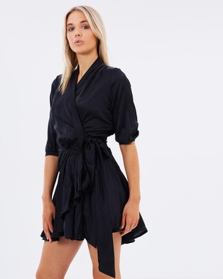 Kitchy Ku – Feeling Frisco Dress Black