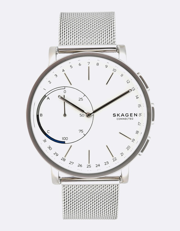 Skagen - Hybrid Smartwatch Hagen Connected Silver-Tone
