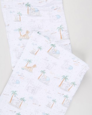 Aden & Anais - Large Swaddles 3 Pack - Sleep & Swaddles (My Darling Dumbo) Large Swaddles 3-Pack