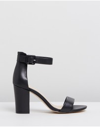 Atmos&Here - ICONIC EXCLUSIVE - Lisa Leather Block Heels