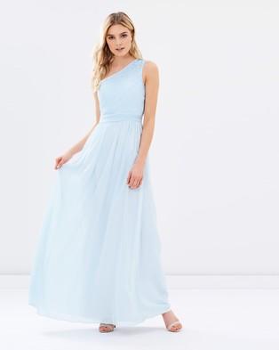 Chi Chi London – The Colette Dress – Bridesmaid Dresses (Blue)