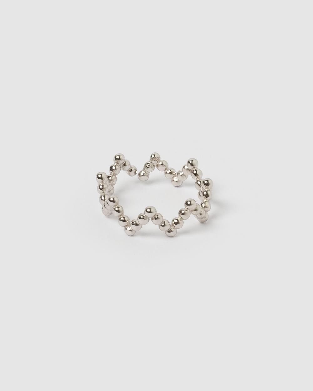 Izoa Goddess Ring Jewellery Silver