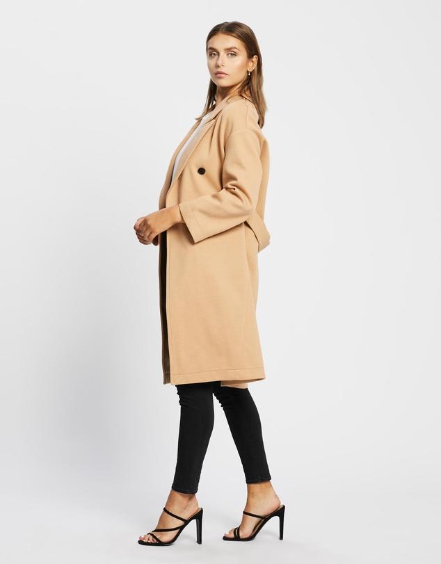 Women Esma Textured Coat