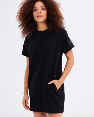 Dead Studios – Luxe Pocket Tee Dress – Dresses (Black)