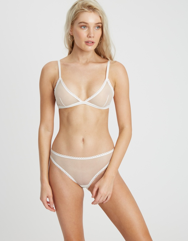 Women Classic Bralette and G-String Set