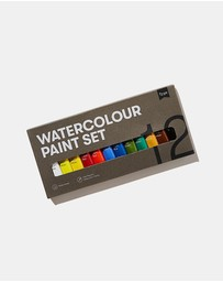 Typo - Watercolour Paint Set