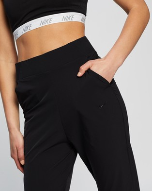 Nike Bliss Luxe Training Pants - Track Pants (Black & Clear)