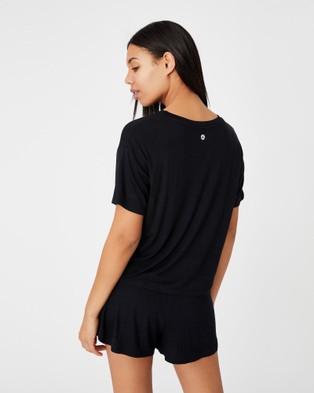 Cotton On Body - Sleep Recovery Crew T Shirt - T-Shirts & Singlets (Black) Sleep Recovery Crew T-Shirt