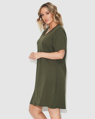 17 Sundays Tee Dress - Dresses (Green)