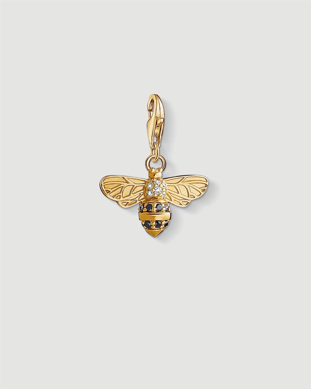 THOMAS SABO Bee Charm Pendant Jewellery Gold