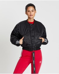 adidas Originals - Cropped Bomber Jacket