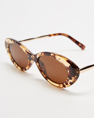 Reality Eyewear High Society - Sunglasses (Honey Turtle)