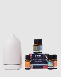 ECO. Modern Essentials - ECO. Stone Diffuser & Well-loved Blends Collection