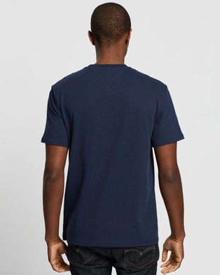 Tommy Jeans NYC Small Logo Tee - T-Shirts & Singlets (Twilight Navy)