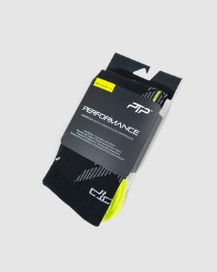 PTP Performance Compression Sock Socks BLACK