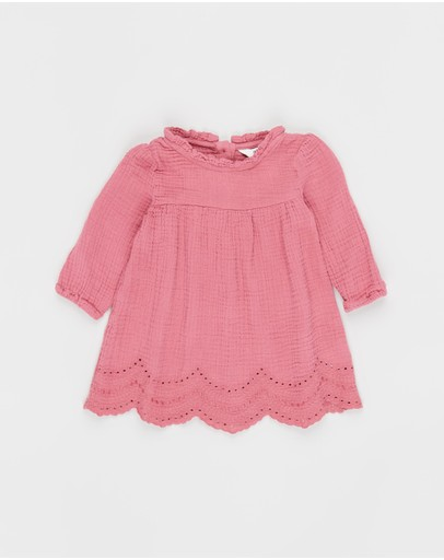Cotton On Baby - Marcia Long Sleeve Dress - Babies