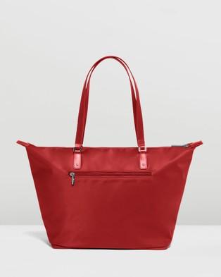 Lipault Paris Lady Plume Tote Bag Medium - Bags (Red)
