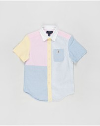 Polo Ralph Lauren - SS Button-Down Classic Oxford Shirt - Kids