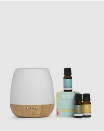 ECO. Modern Essentials - ECO. Bliss Diffuser & Sunshine Sate of Mind Trio