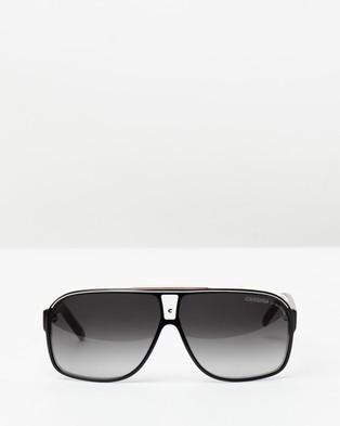 Carrera Grand Prix 2 - Sunglasses (T4O BKCRBKWHR)