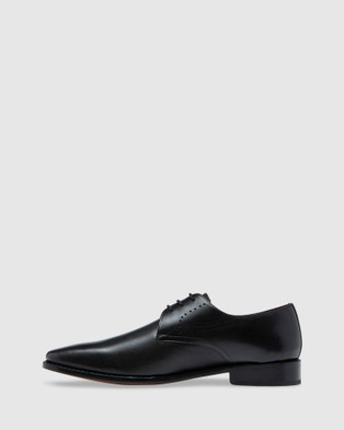 Oxford Montgomery Goodyear Welted Shoe - Dress Shoes (Black)