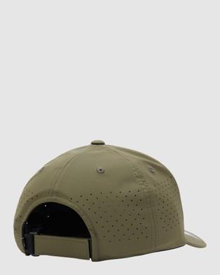 Quiksilver Mens Adapted Flexfit Cap - Headwear (THYME)