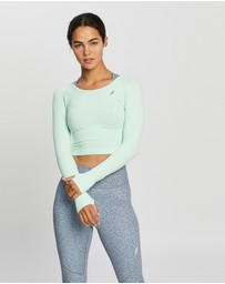 Doyoueven - Air Seamless Cropped Long Sleeve