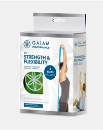 Gaiam - Performance Strength and Flexibility Kit