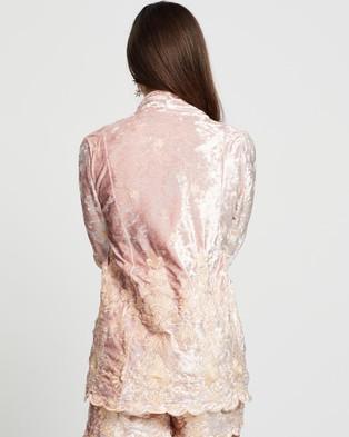 LENNI the label Rumi Jacket - Coats & Jackets (Pink Velvet)