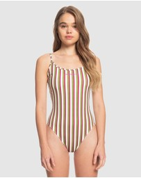 Quiksilver - Womens The Geo One-Piece Swimsuit
