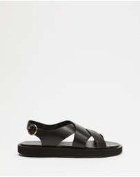Atmos&Here - Nadeen Leather Sandals