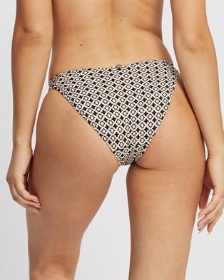 Tigerlily Karezi High Tiger Bikini Bottoms - Bikini Bottoms (Bone)