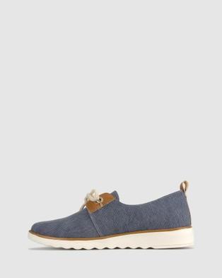 Zeroe Accord Denim Casual Shoes - Casual Shoes (Denim)