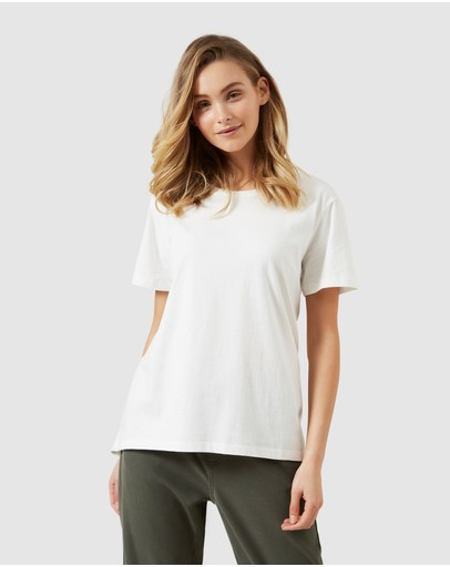 French Connection - Dipped Hem T Shirt