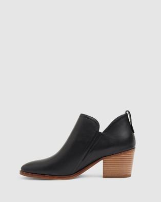Jane Debster Denzel - Mid-low heels (BLACK)
