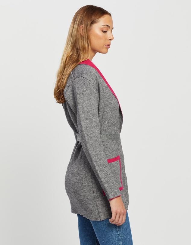Women Fenni Colour Block Knit Cardigan