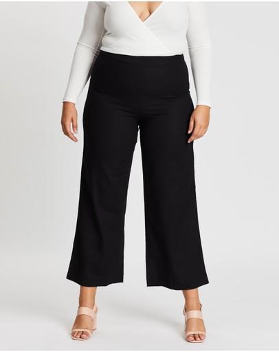 Mika Muse Lucinda Wide Leg Pants Black