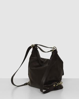 BEE The Elliot Black Bag - Backpacks (Black)