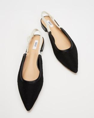 Dazie Blossom Flats - Ballet Flats (Black Polka Dot)